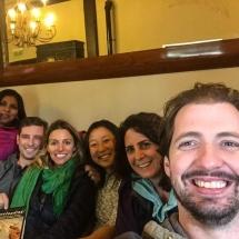 Group at Puesto Viejo