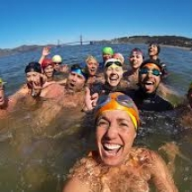 SF Bay Swimming group shot pinterest.com