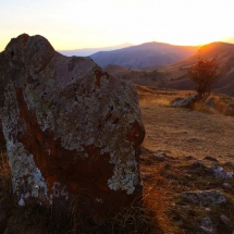 carhunge-at-sunset