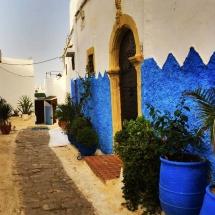 Medina Blue Alley Wall