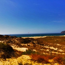 Guincho Beach in distance