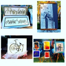 Art pieces Mercado San Angel