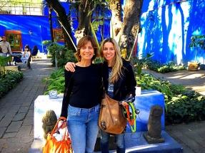 Me and Mom at Frida Kahlos house