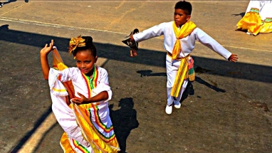 Barranquilla Cumbia Child Dancers