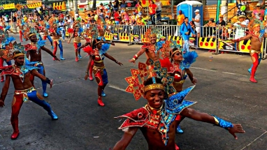 Barranquilla Carnaval Dancers