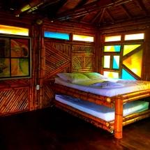 Babmboo Hut bedroom