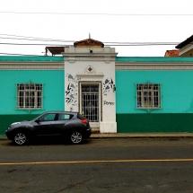 Barranco blue building
