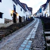 Cusco's Stairway to San Blas