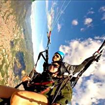 Flying High over Medellin