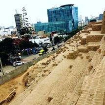 Huaca Pucllana ruins Lima
