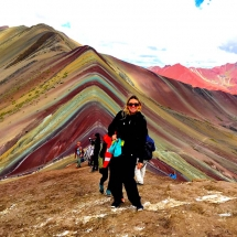Rainbow Mountain and me